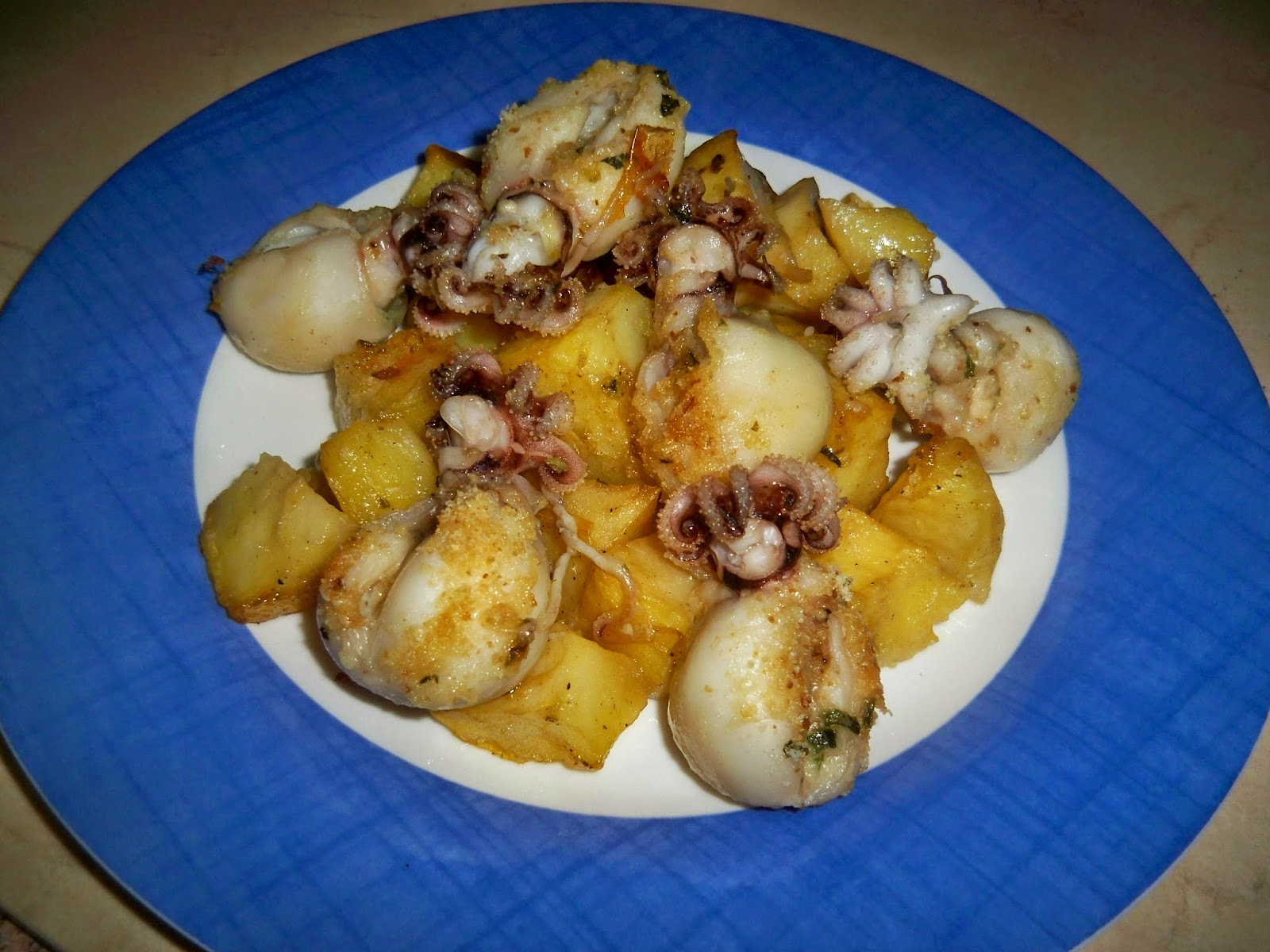 Come ci piace cucinare seppioline al forno con patate for Ci piace cucinare