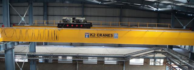 K2 Cranes Manufacturers in India