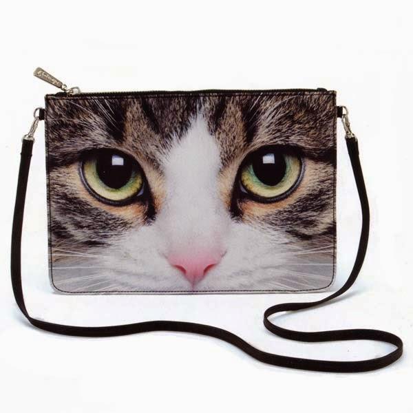 Jellycat Catseye Tabby Cat Cross Body Bag