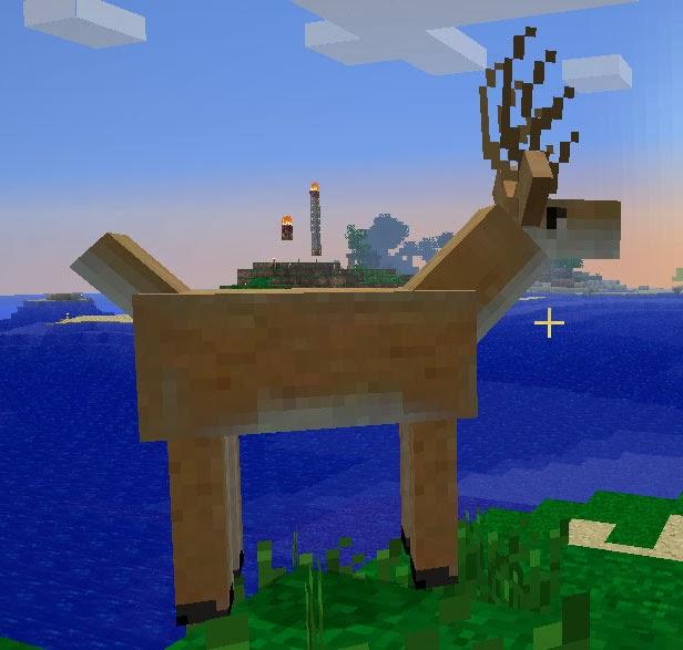 Mo' Creatures ciervo Minecraft mod