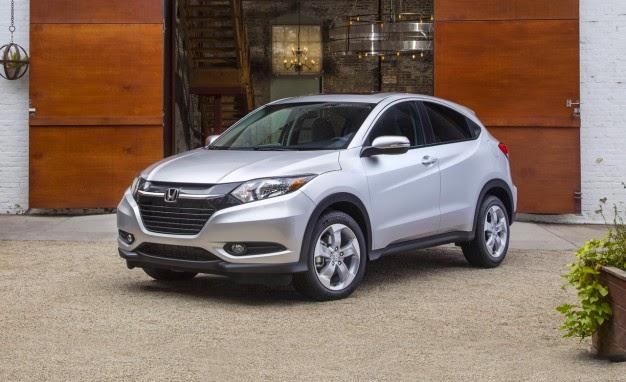 2016 Honda HR-V EPA Fuel Economy Estimates