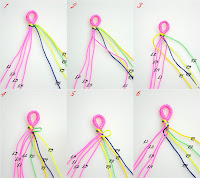 How To Make Friendship Bracelet Patterns3