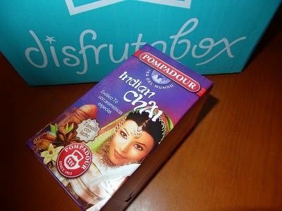 Té Indian Chai Pompadour