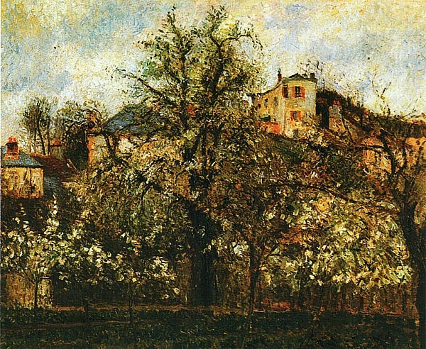 Камиль Писсарро. Фруктовый сад в Понтуазе. Весна. 1877.