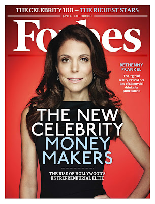 bethenny frankel forbes magazine cover. Bethenny Frankel covers the