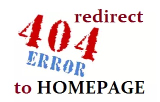 trik redirect error 404 ke homepage blog