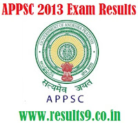 APPSC Departmental exam Results 2013