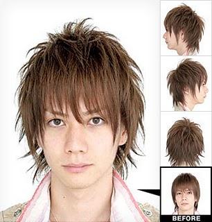 Fesyen Rambut Lelaki Korea Cool Korean Men Hair Style - Hairstyle buat rambut pendek