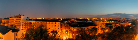 Madrid - skyline