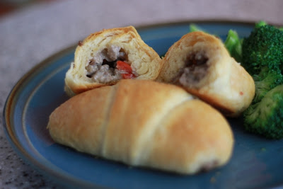 Beef and Cream-Cheesy Crescents