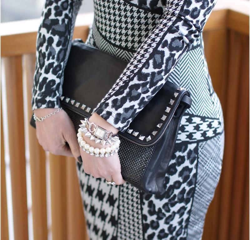 Zara studded bag, Gucci watch, Tiffany infinity bracelet, Fashion and Cookies