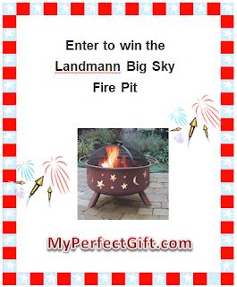 Giveaway – Landmann Big Sky Steel Fire Pit – 6/17 to 7/4
