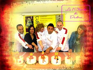 corso per pasticceri conpait, io chef docente di cake design... ;-)