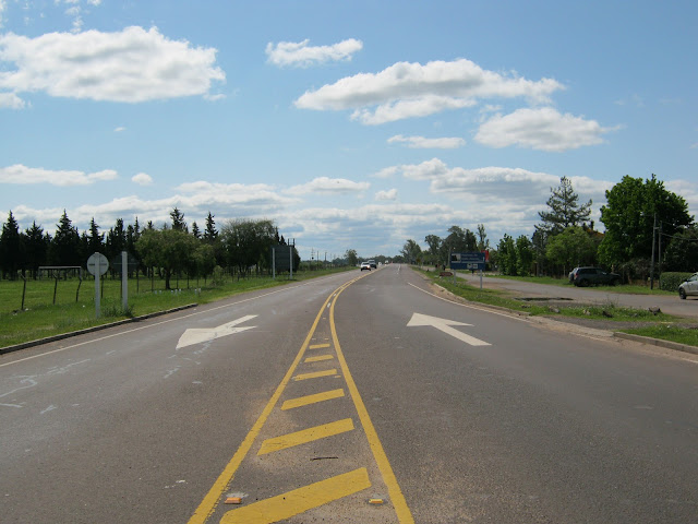 Photo of the route 3 at Salto uruguay