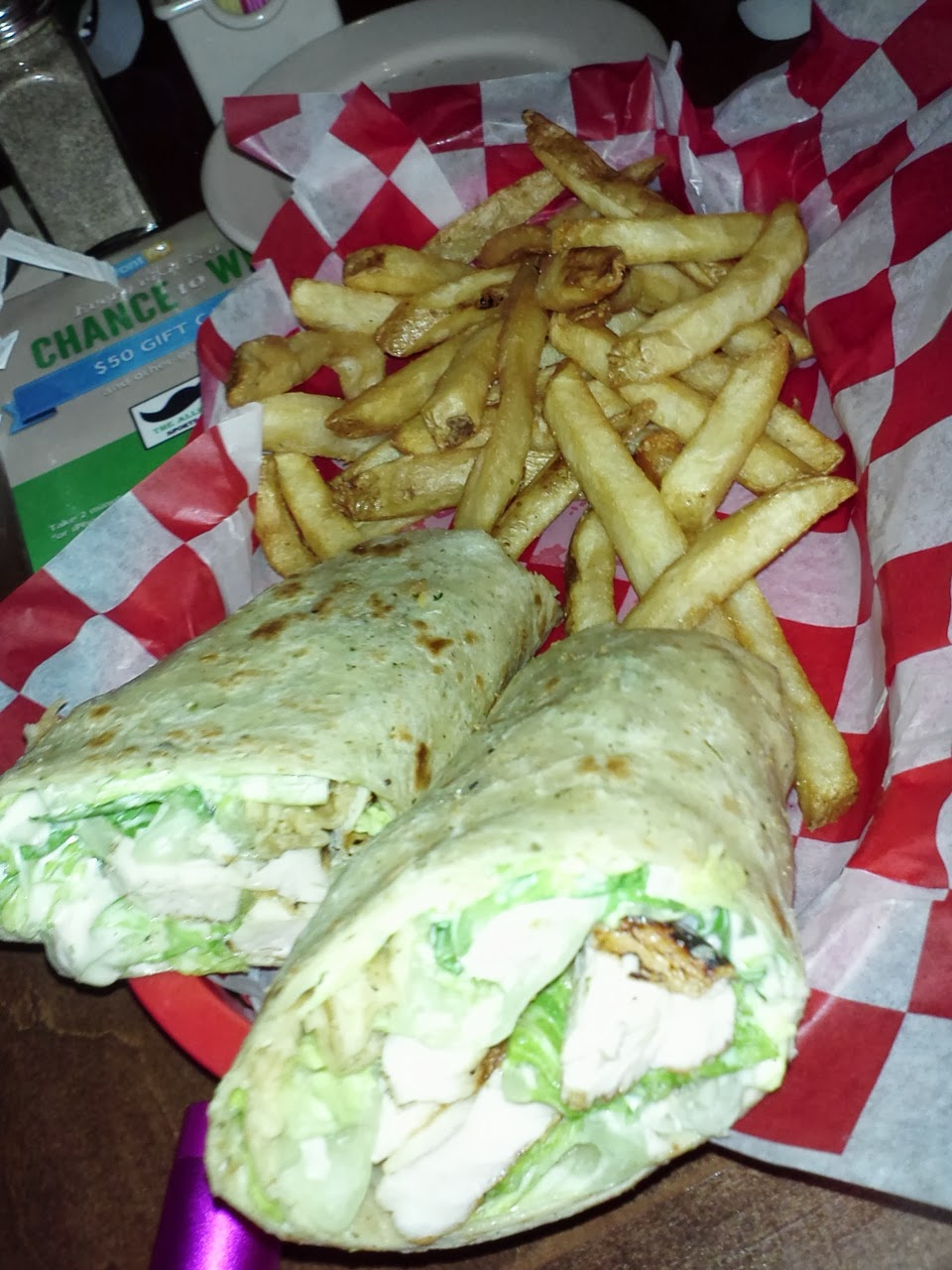 Allen Wickers Chicken Caesar Wrap