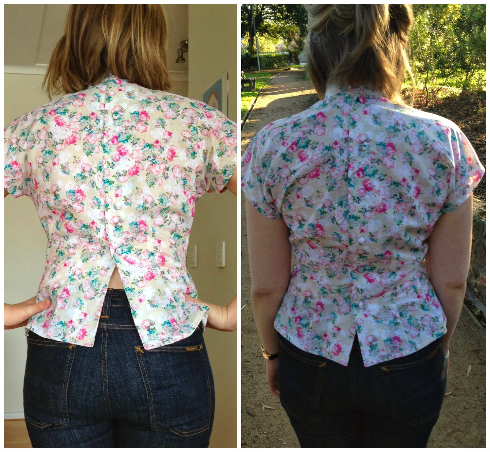 Gertie's Bow Tied Blouse