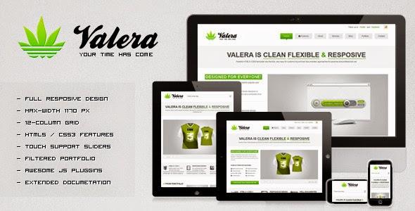 Valera ThemeForest HTML Template