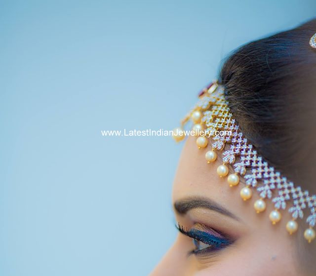 Diamond Matha Patti Design