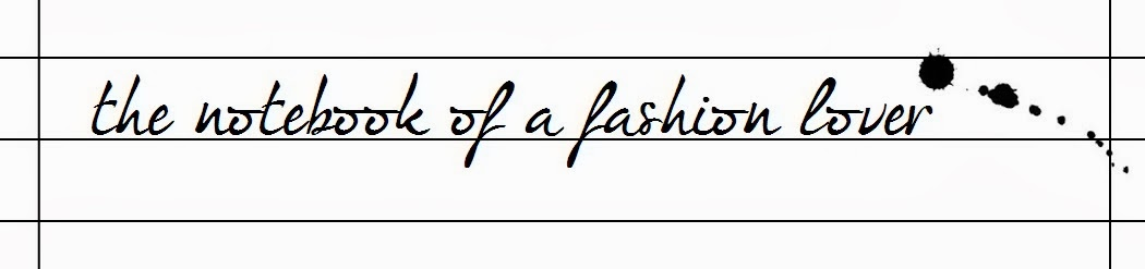 The notebook of a fashion lover