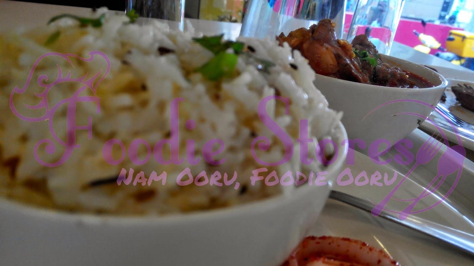 Tadka Singh chicken gravy, ghee rice