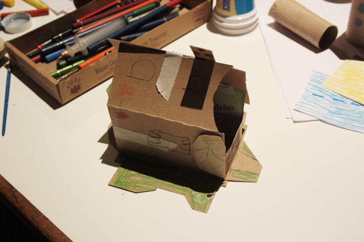 Arte, Diseño y Tecnología: preparando la maqueta