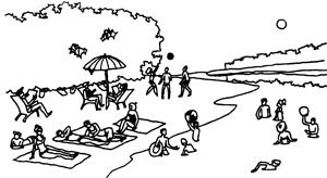 Разное значение слов rest, spend, often, hour, sea, seaside, life, again в разных предложениях. Summer Holidays - Описание летних каникул на английском