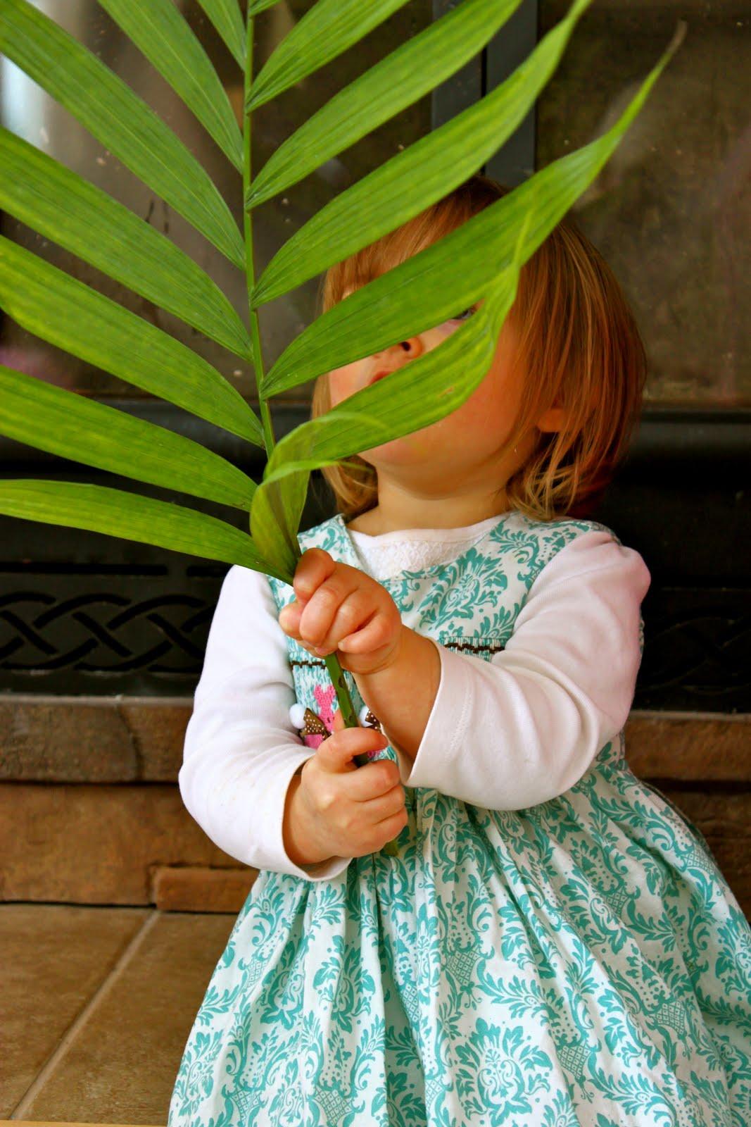 Waving Palms & Etsy Easter Dress Sneak Peek - The Pinke Post