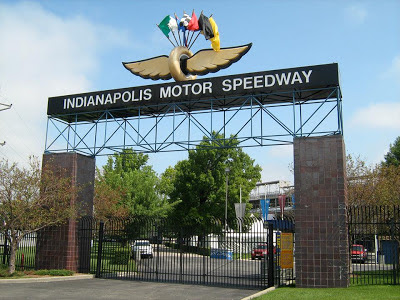 Gate to the Indianapolis Motor Speedway, Indy 500 Weekend 2013