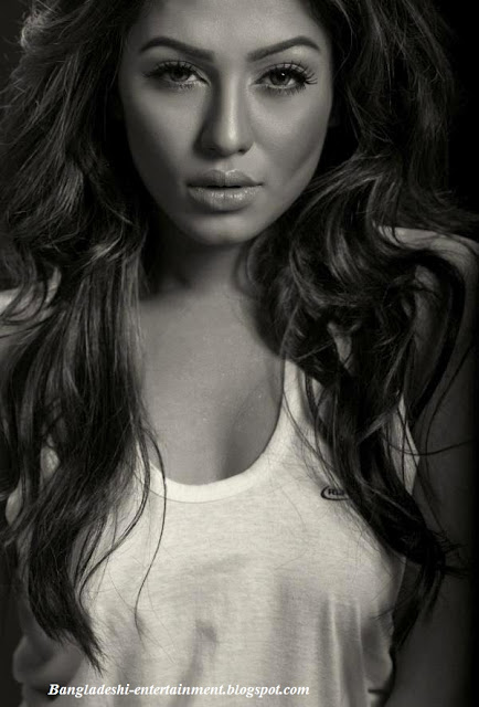 Bangladeshi model Nusraat Faria Mazhar