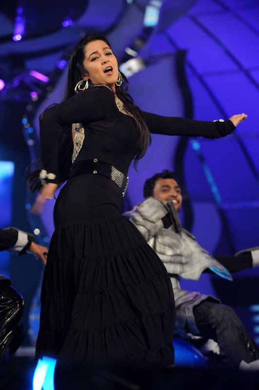Actress Charmi Sexy Stills At Cinemaa Awards  Hot Performance Cleavage navel show