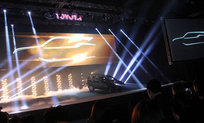 Peluncuran Toyota Fortuner Terbaru 2015 Bangkok Thailand