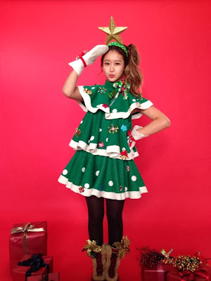 gummi crayon pop christmas