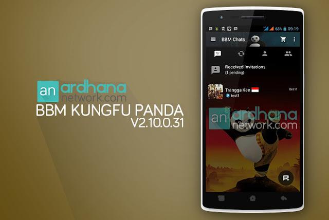 BBM Kungfu Panda