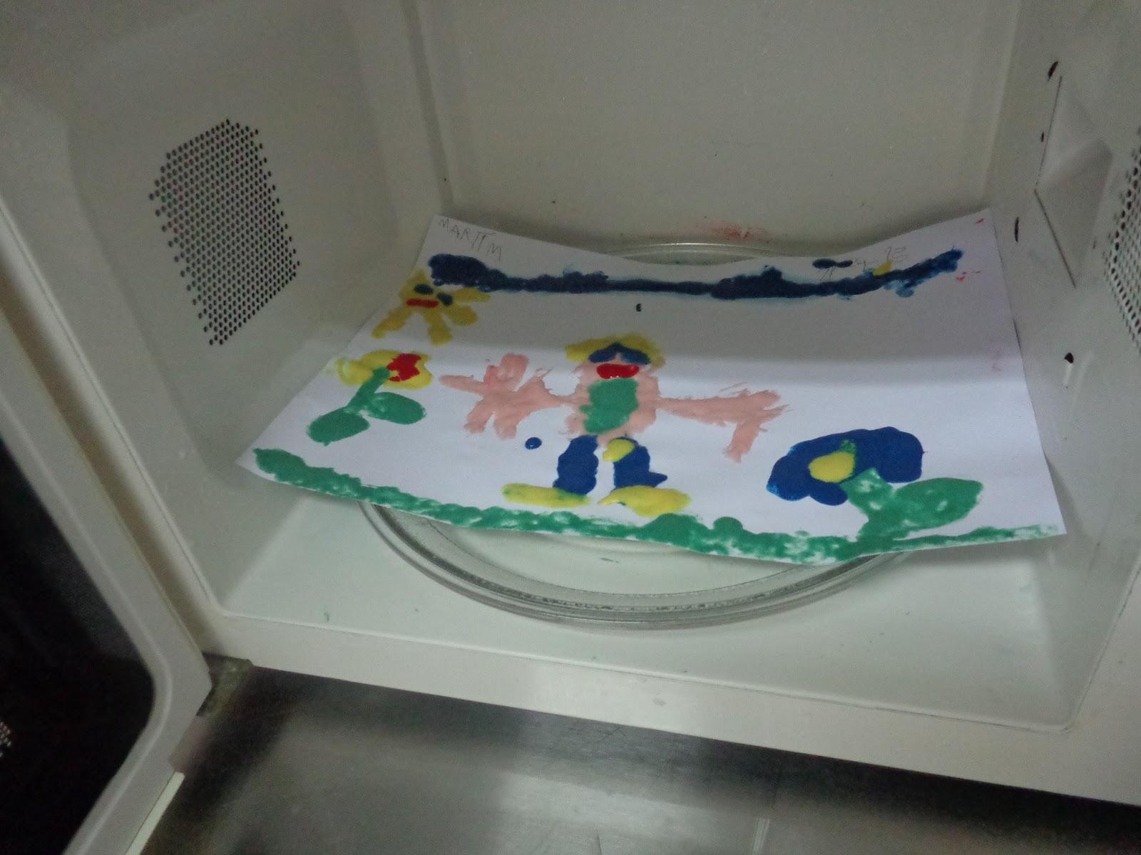 Pintura de microondas triquiteiros de s jo o - Pintura para microondas ...