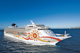 Norwegian Cruise Line's Norwegian Sun - One of the many ships participating in the Cyber Monday Sale.
