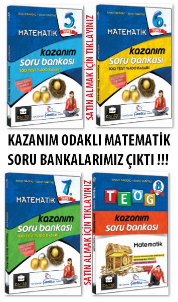 MATEMATİK SORU BANKALARIMIZ ÇIKTI !!!