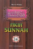 toko buku rahma: buku fiqih sunnah 14, pengarang sayyid sabiq, penerbit pt. alma'arif bandung