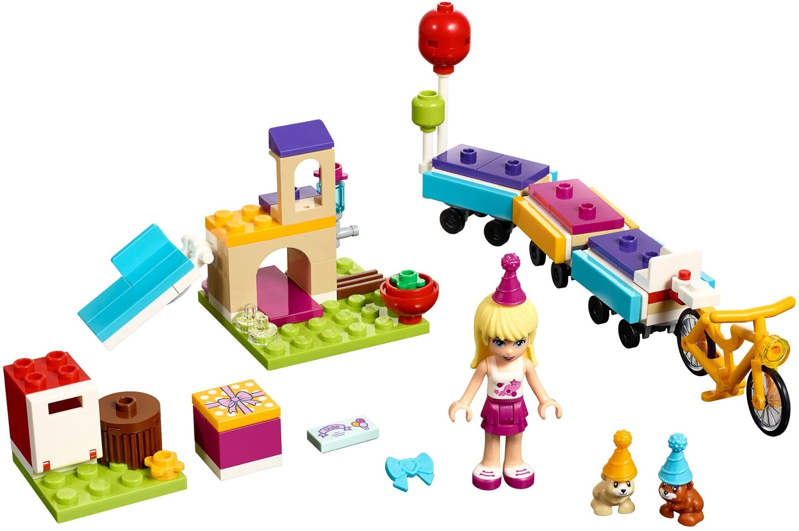Beautiful LEGO Friends Party Train (41111) Gives Us Fun Ideas For Building Pet  Playgrounds, Along