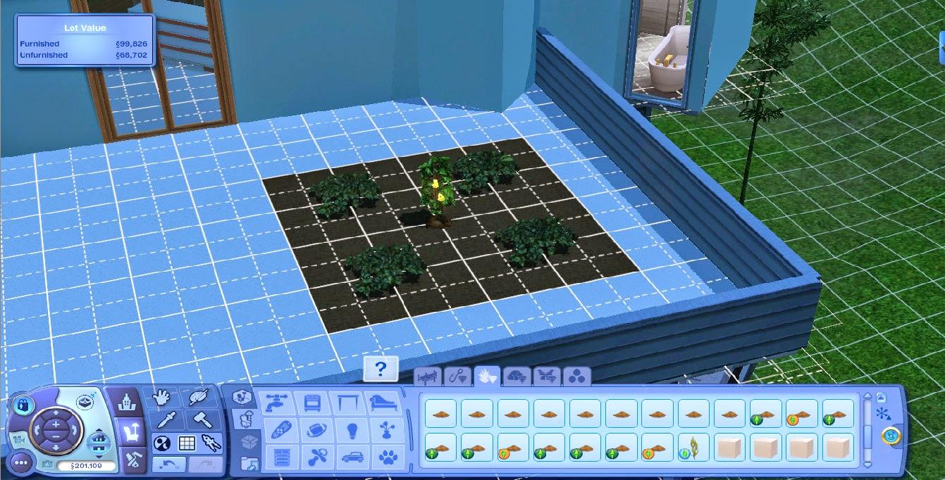 Tutorial cara membuat 39 balcony garden 39 the sims indonesia for Sims 4 balcony