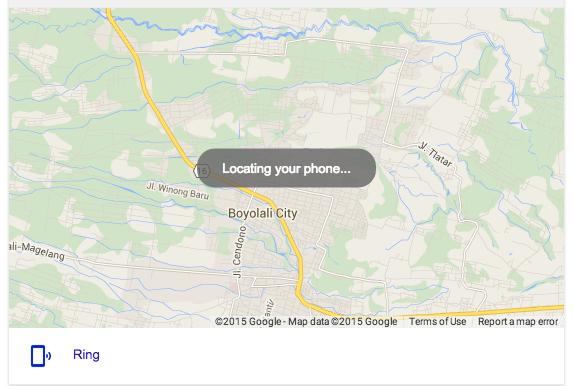 Google Search phone tracker