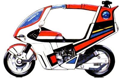 Wordless Wednesday : Motosikal Kamen Rider Black (Kesatria Baja Hitam)