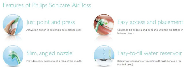 AirFloss Features