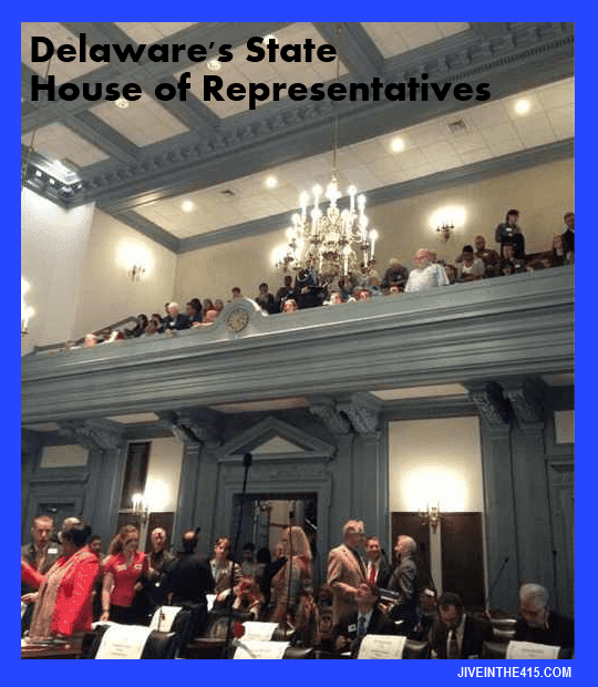 Delaware's state House of Representatives