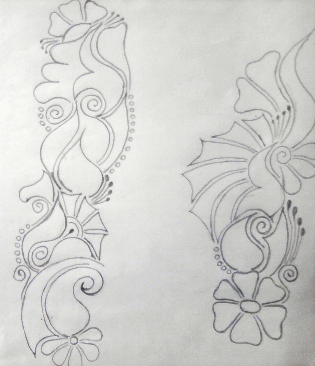 how to draw trippy designs step by step