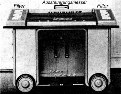 El Elektronische Monochord, el último instrumento electrónico diseñado por el padre del Trautonium, Friedrich Trautwein