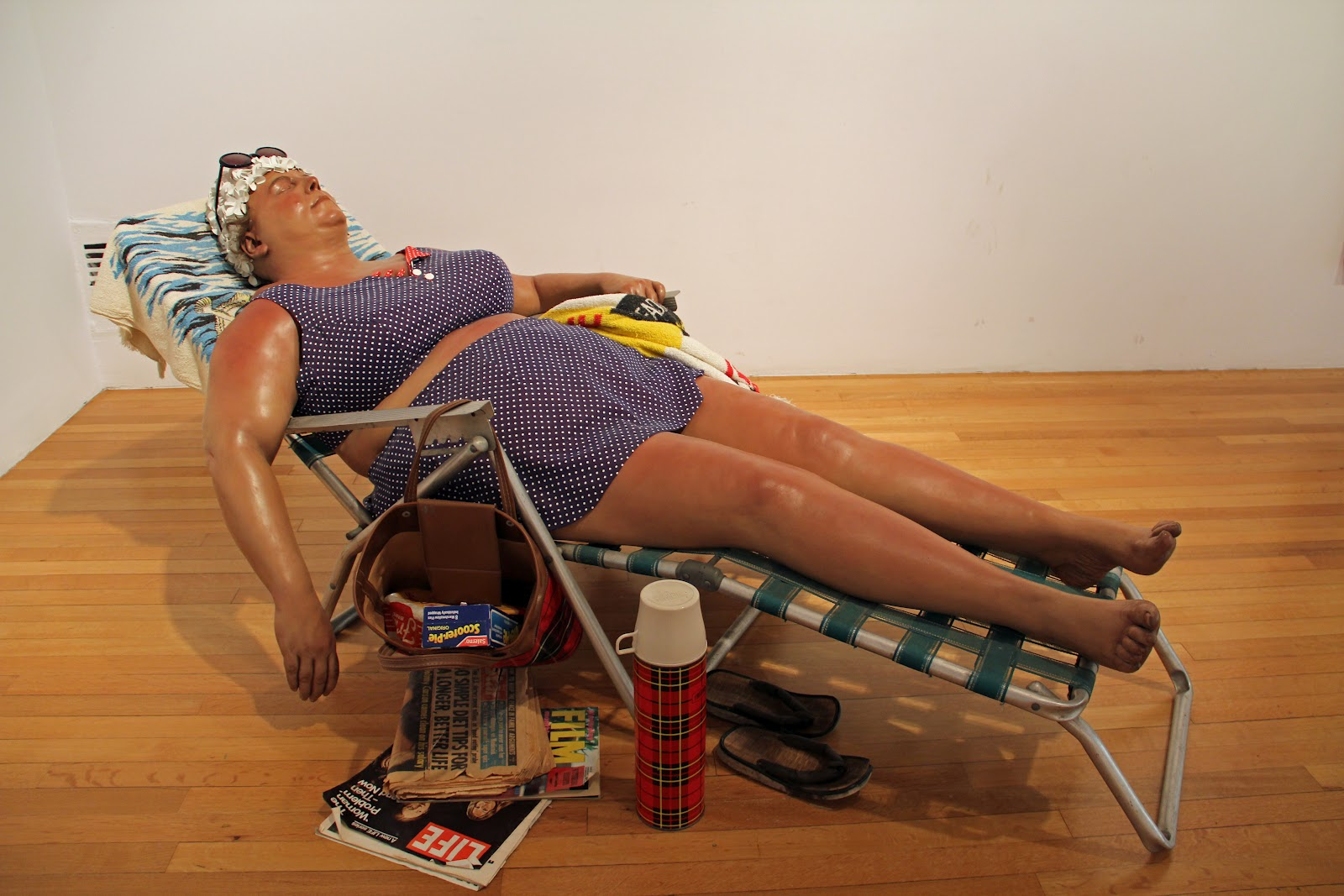an analysis of the sculpture sunbather study i by duane hanson Chapter 25 early 20th century art ap study guide 23 pages to tell a story ringgold ringgold quilts sharing an equally acute social university of texas.