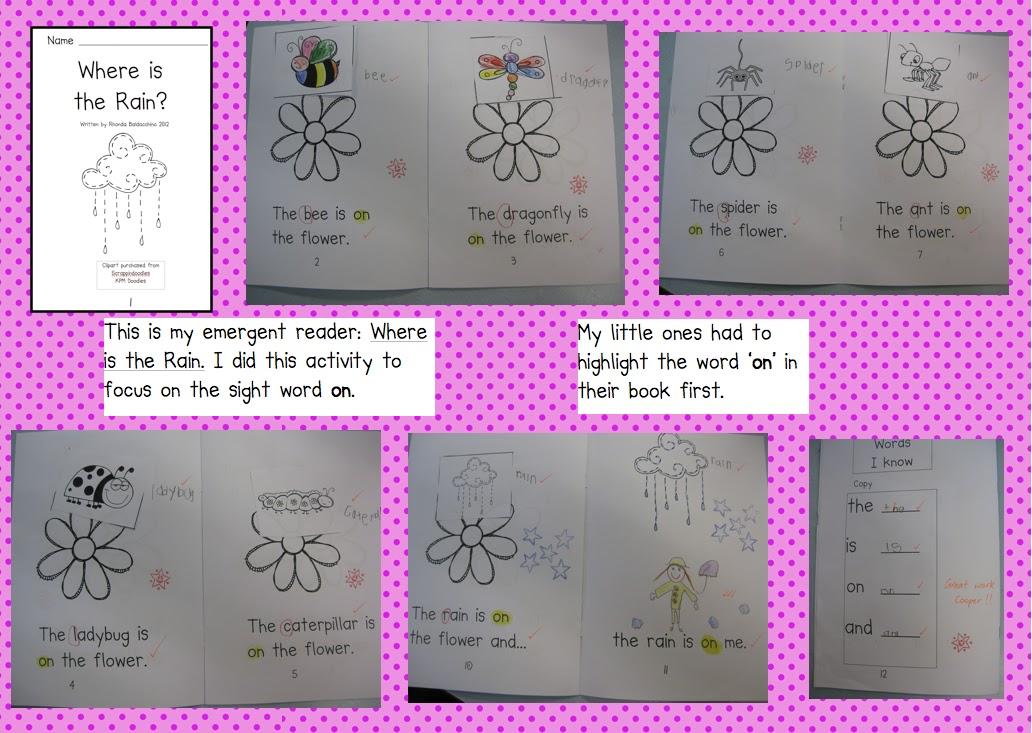 Kindergarten Sight  in the sight Word classroom activities word Activities