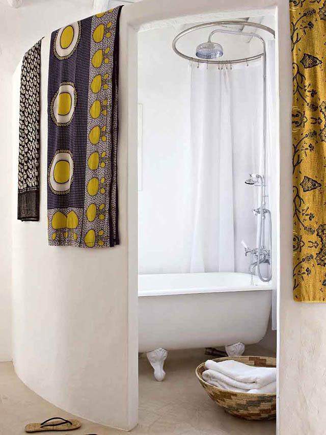 baños estilo rustico-brutalista -flanco etnico africa