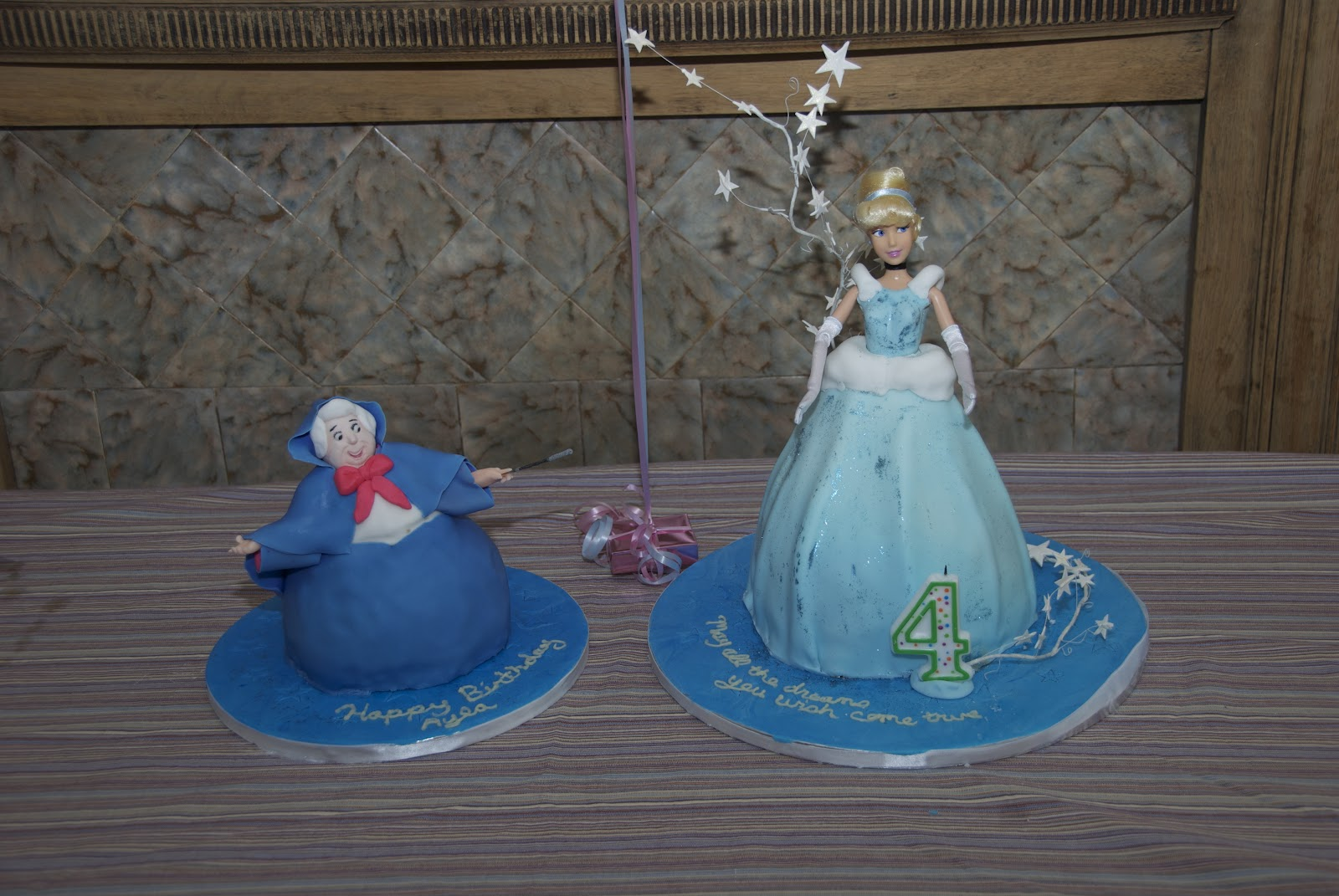 Heartsong Cakes and Crafts: Cinderella and Her Fairy Godmother