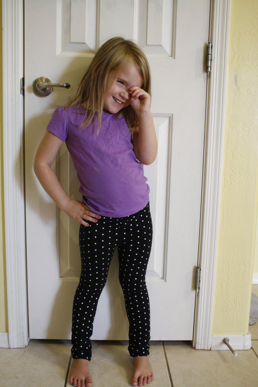 Little Girls Leggings